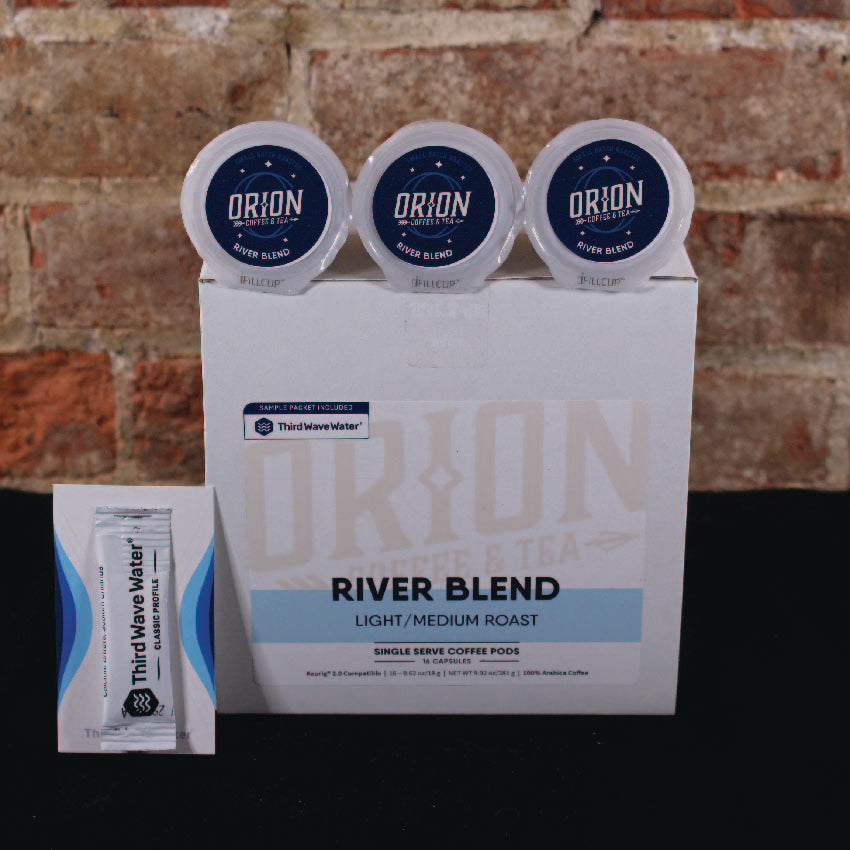 river blend k cups orion