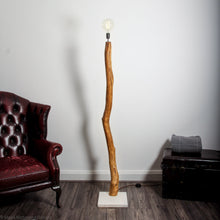 Load image into Gallery viewer, Tall Oak Floor light