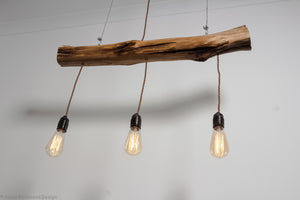 Oak Staff Ceiling Light