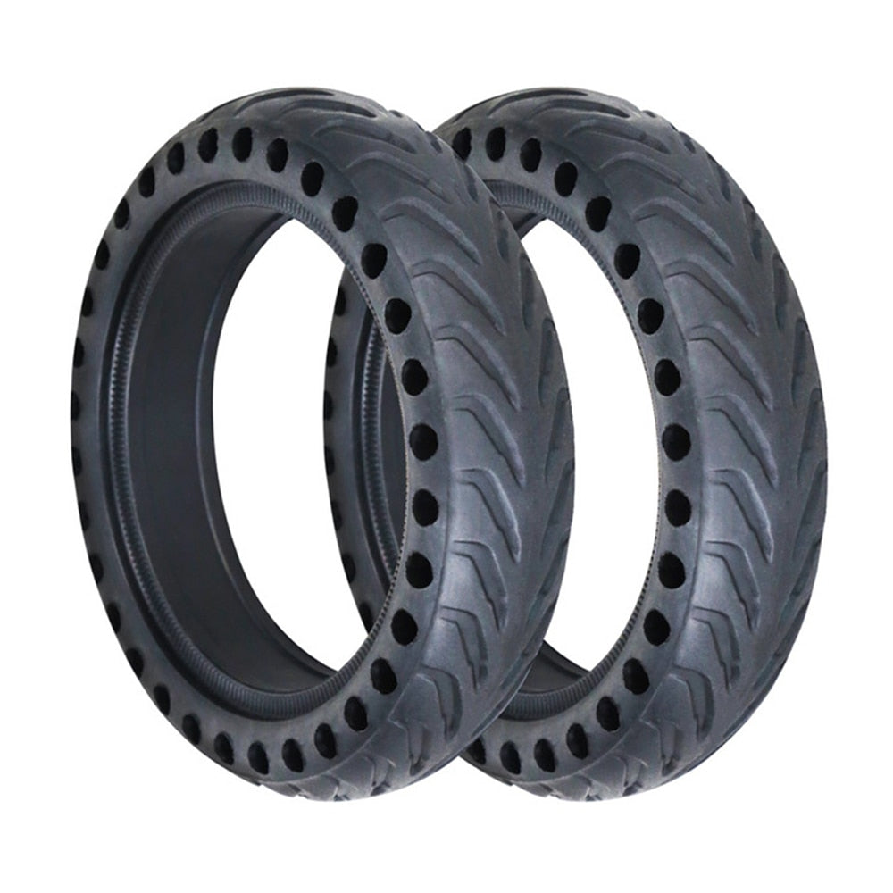for Xiaomi Mijia M365 Scooter Tire Skateboard Hollow Solid Tyres Shock Absorber Electric Scooter Rubber Tires for Xiaomi M365