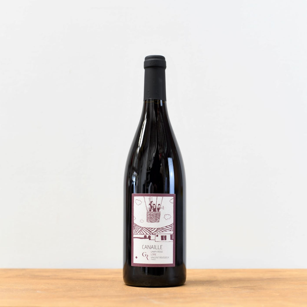 Canaille Gamay Rouge, Clos du Roussely, France, Loire Valley