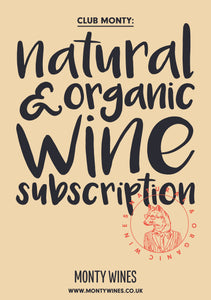 Natural and Organic Wine Subscription Box