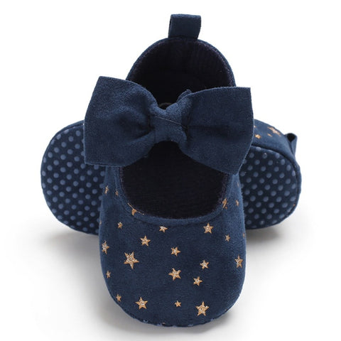 Newborn Baby Girl Flower Sneakers