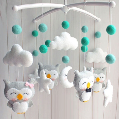 Baby Crib Holder Rattles Bracket Set
