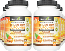 Turmeric Curcumin 6 Bottle