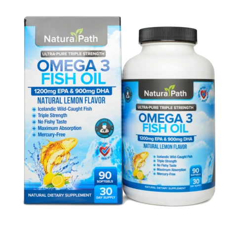1 Bottle - Omega 3 Fish Oil