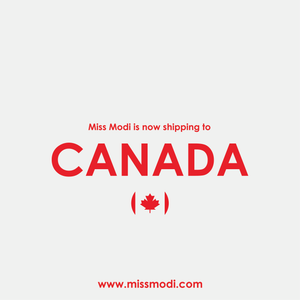 Miss Modi is now shipping to CANADA!⁠