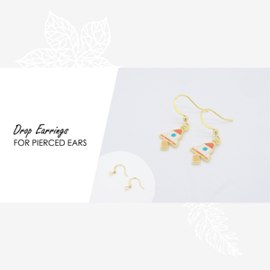 Mango Shaved Ice Enamel Earrings/ Bracelet/ Necklace