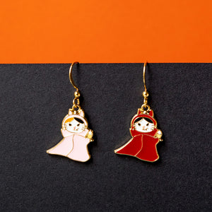 Vampire Cat Enamel Earrings/ Bracelet/ Necklace