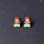 Space Shuttle Enamel Earrings/ Bracelet/ Necklace [NEW]