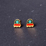 Mysterious Visitor Enamel Earrings/ Bracelet/ Necklace [NEW]