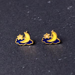 Good Night Enamel Earrings/ Bracelet/ Necklace [NEW]