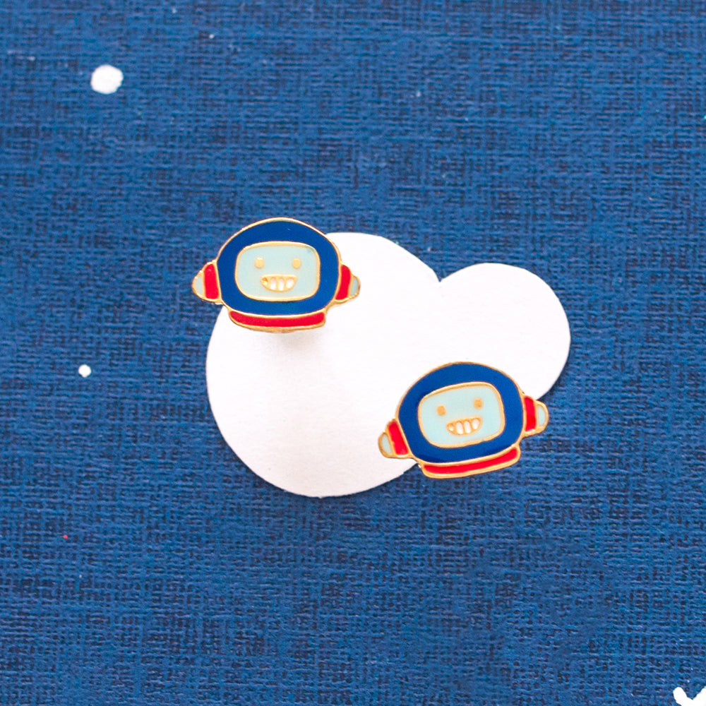 Astronaut's Mission Enamel Earrings/ Bracelet/ Necklace