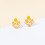 Mango Shaved Ice Enamel Stud Earrings/ Bracelet/ Necklace