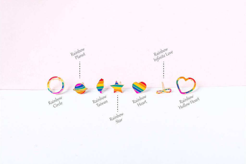 """LOVE is LOVE"" Enamel Necklaces 