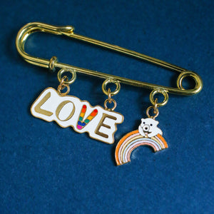 LOVE Enamel Pin (Limited Edition)