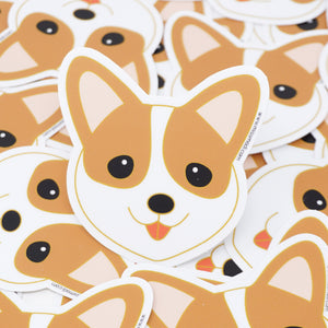 The Welsh Corgi Die Cut Vinyl Sticker
