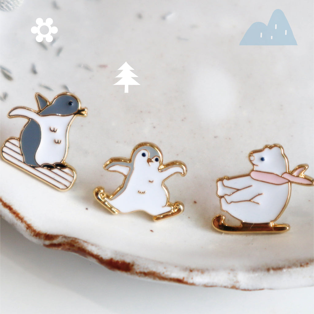 Winter Fun Enamel Earrings/ Bracelet/ Necklace [Limited]