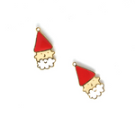 Miss Modi presents Handcrafted Santa Claus Enamel Stud Earrings