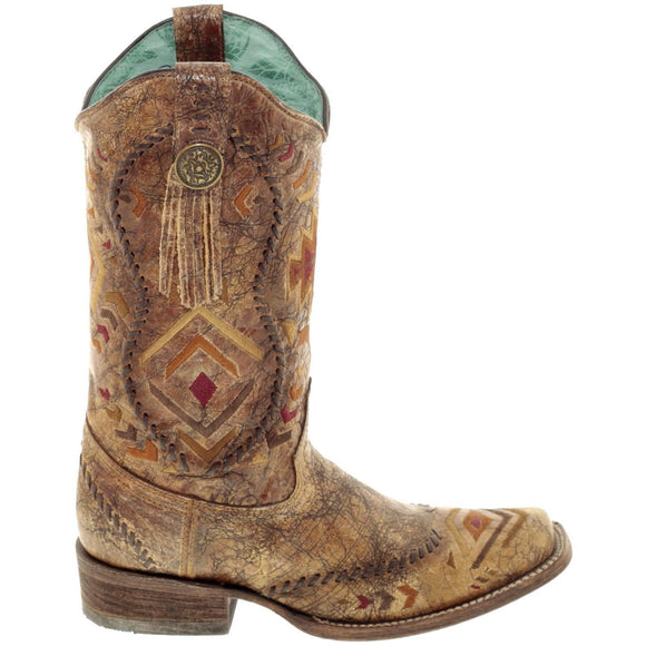 Aztec Embroidered Western Boots from Corral Boots