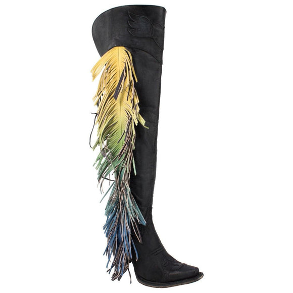 Junk Gypsy by Lane Women's Spirit Animal Tall Boots - Snip Toe