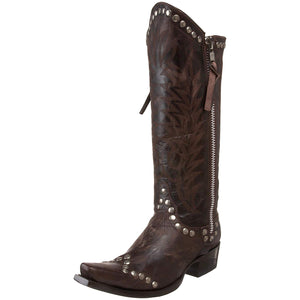 Old Gringo Women's Rockrazz Chocolate Leather Boots L598-3