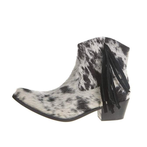 Cowhide Ankle booties from Agave Sky