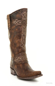 Old Gringo Krusts Boots Brown L1295-3