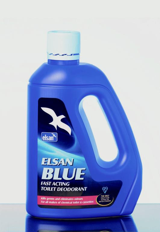 Elsan BLU02 Chemical Toilet Fluid-Blue, 2 litres