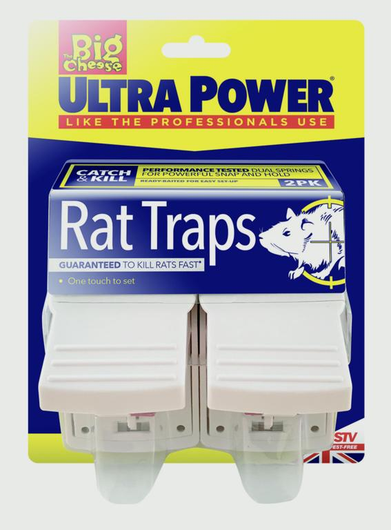 The Big Cheese-Ultra Power Rat Traps