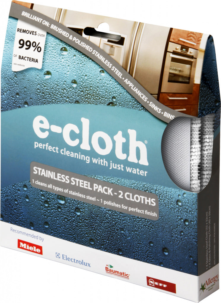 E cloth Stainless Steel Pack - iShom