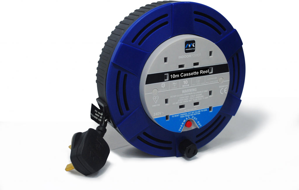 Masterplug-Cable-Reel-10-Amp-MCT1010/BL-MP - iShom