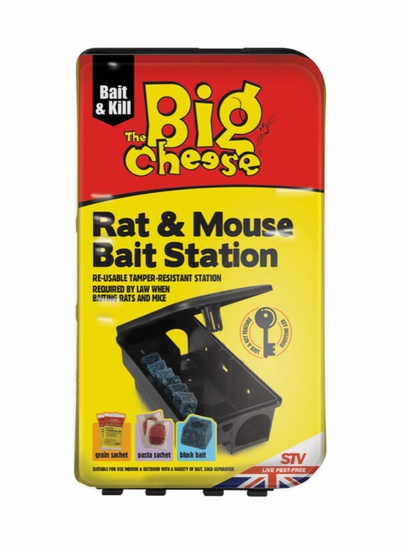 The Big Cheese-Rat & Mouse Bait Station
