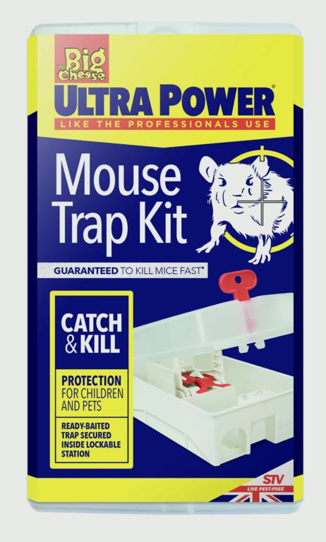 The Big Cheese-Ultra Power Mouse Trap Kit
