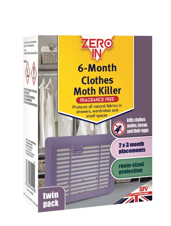 Zero In-6 Month Clothes Moth Killer