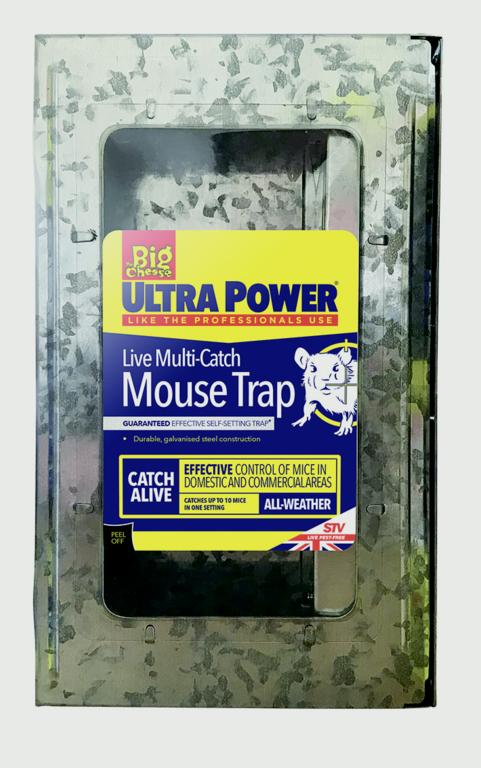 The Big Cheese-Ultra Power Live Multi Catch Mouse Trap