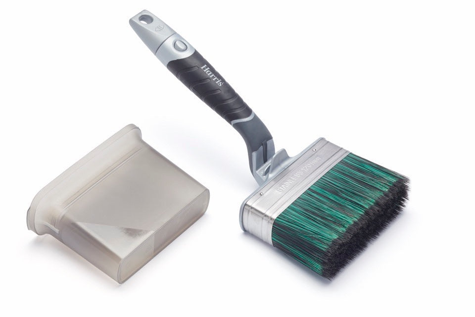 Harris-Ultimate Shed & Fence Swan Neck Paint Brush - iShom