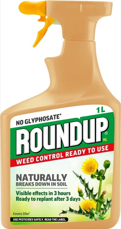 Roundup-Natural Weed Control Concentrate