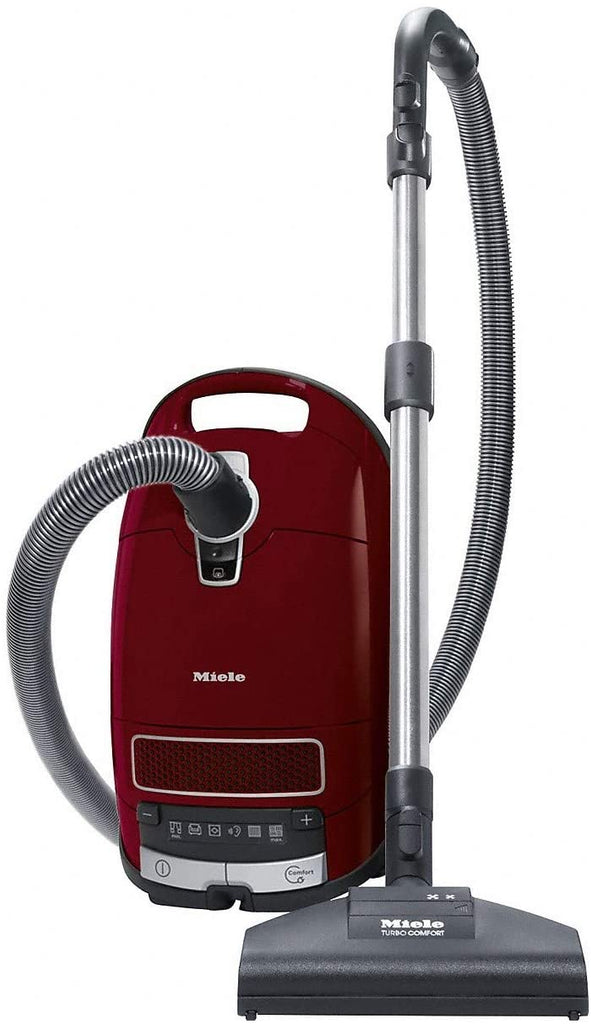 Miele 11085190 Complete C3 Cat & Dog Pro Powerline 890W Bagged Cylinder Vacuum Cleaner - Ideal for Pet Owners - Red