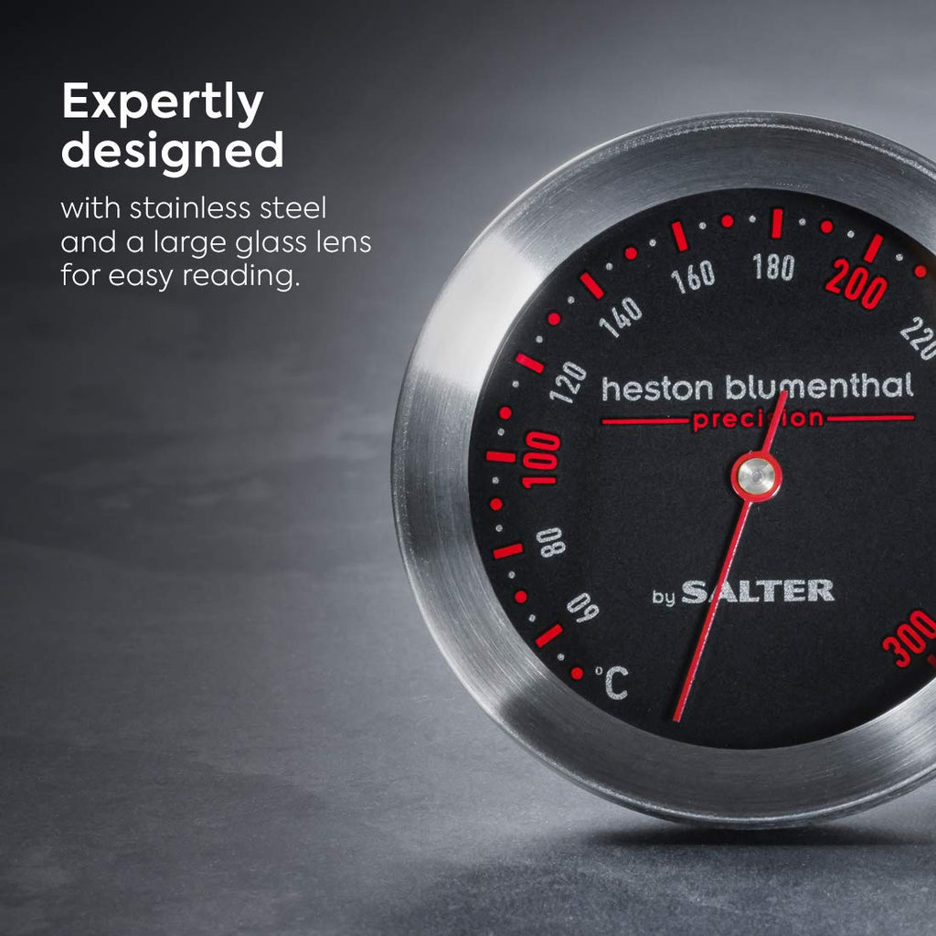 Heston Blumenthal  Oven Thermometer by Salter, 50-300C Precise - iShom