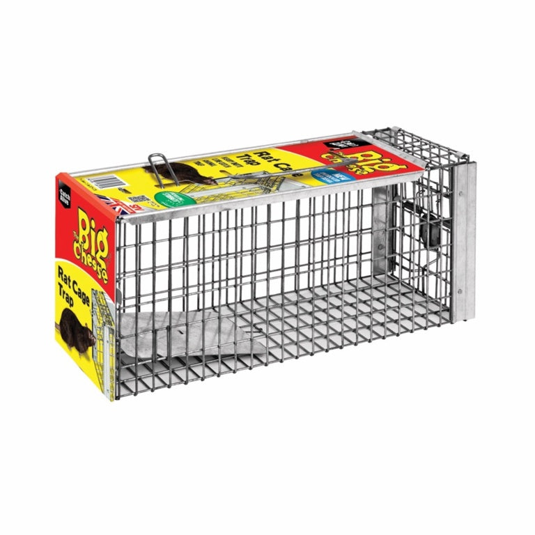 The Big Cheese-Rat Cage Trap