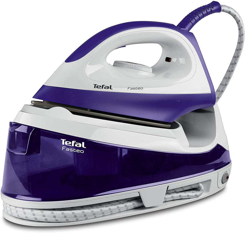Tefal Fasteo SV6020 Steam Generator Iron 2200W, Purple/White