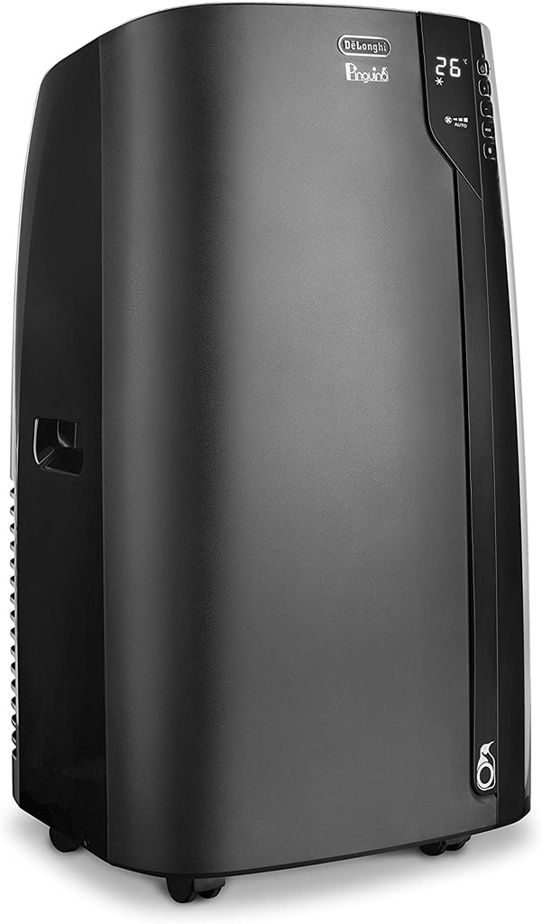 De'Longhi PACEX120 Silent Pinguino Air Conditioning Unit, Black [Energy Class A]