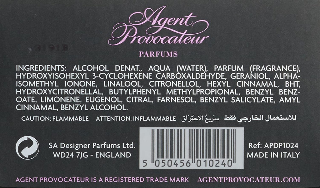 Agent Provocateur Eau de Parfume for Women - 30 ml