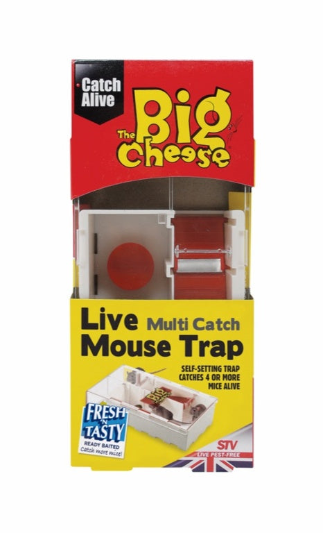 The Big Cheese-Multi-Catch Mouse Trap