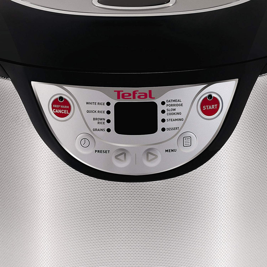 Tefal RK302E15 Multicook 8-in-1 Multicooker, (4 Portions), 600 W, 2.2 Litre Silver