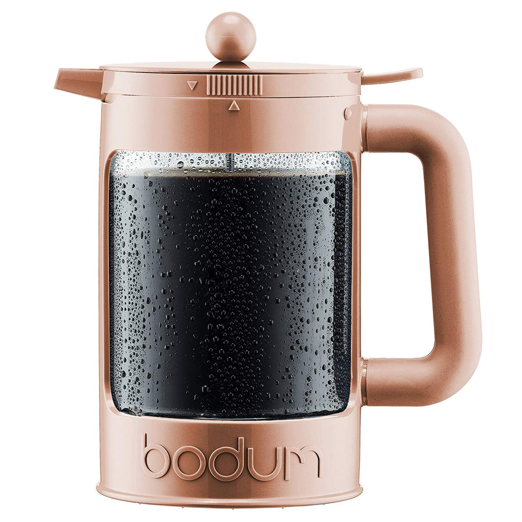 Bodum Bean Cold Brew French Press in Cream for iced coffee 1.5L | ISHOM