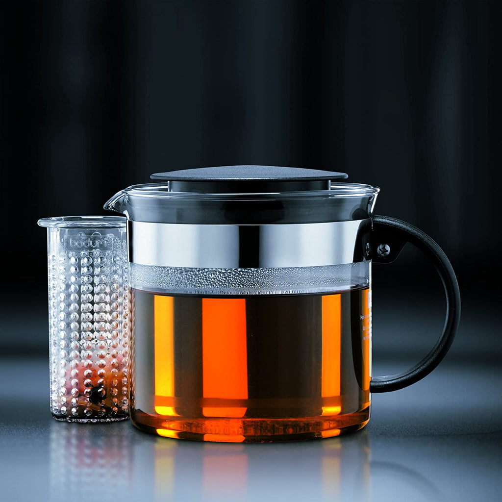 Bodum BISTRONOUVEAU Tea pot, 1.0 l, 34 oz Denim | ISHOM