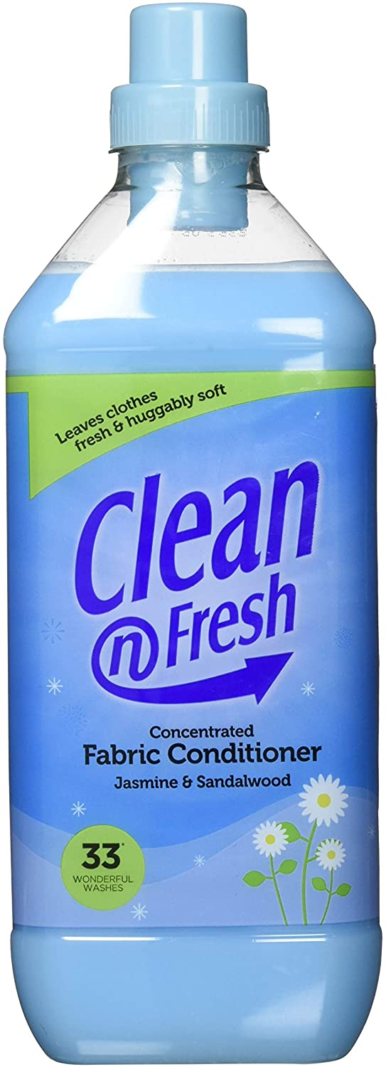 Clean n Fresh Fabric Conditioner Concentrated 1L | ISHOM