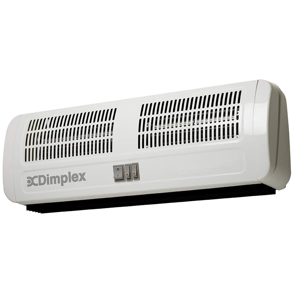 Dimplex AC3N 3kW Over Door Heater 2 Heat Settings Over Door Air Curtain, - iShom